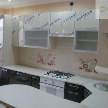 дизайн прямой кухни 2