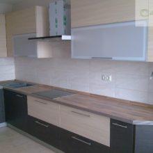 Прямая кухня модульная 3