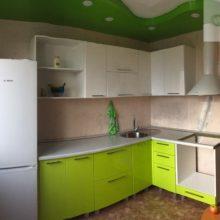угловая кухня 9 кв м 15