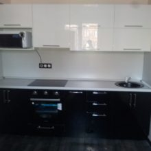 кухня 3 метра прямая 12