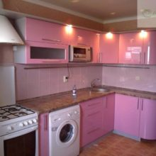 угловая кухня 9 кв м 2