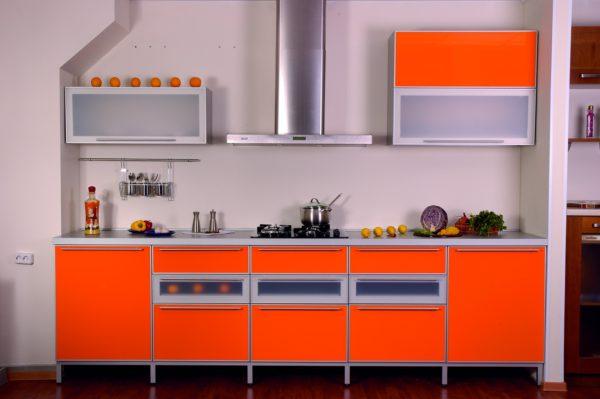 Кухня акриловое стекло матовое - Вариант № 1