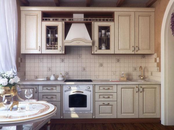 Кухня из массива, цвет - Позитиано производство Италия - Вариант № 4