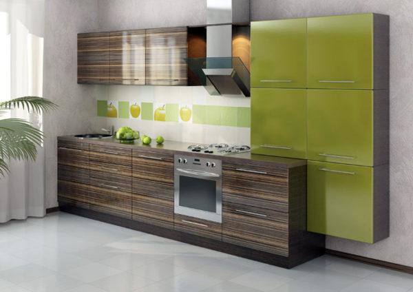 Кухня Egger зебрано - Вариант № 15
