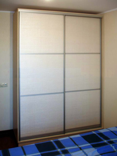 Шкаф-купе с бамбуковым полотном - Вариант № 9