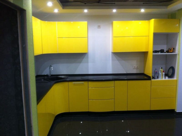 Кухня эмаль глянец - Вариант № 26