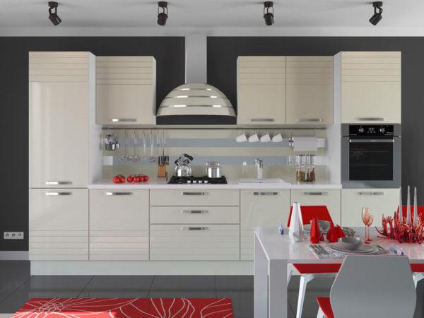 Кухня эмалированная глянец - Вариант № 27