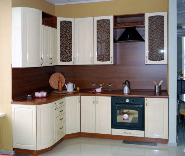 Кухня эмалированная, цвет, белый - Вариант № 9