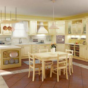 Кухни из сосны