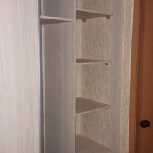 Шкаф в прихожую внутреннее наполнение полок
