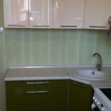 кухня молочная с зеленым