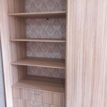 шкаф купе в спальную внутреннее расположение полок и ящиков