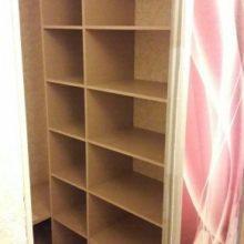 Шкаф-купе гардеробная комната с фотопечатью в прихожую